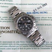 Rolex Explorer II black dial box and warranty 1999 Like new