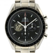 Omega 31130423001002 Steel 2015 Speedmaster Professional Moonwatch 42mm pre-owned