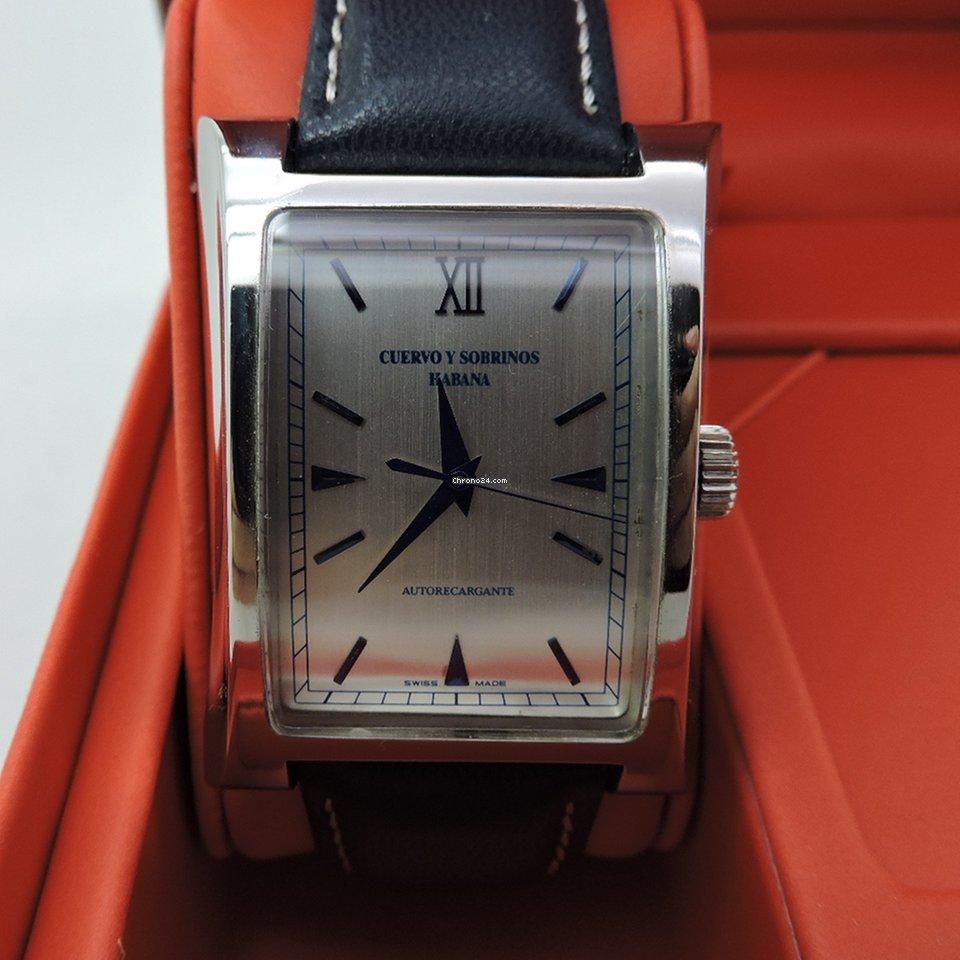 f59a950fa Relojes Cuervo y Sobrinos - Precios de todos los relojes Cuervo y Sobrinos  en Chrono24