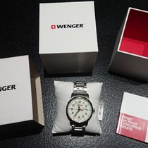 Wenger Steel 42mm Quartz 01.1541.108 new