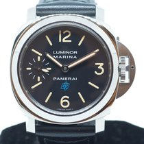 Panerai Luminor Marina Steel 44mm Black Arabic numerals Singapore, Singapore