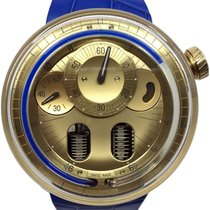HYT Yellow gold Manual winding Gold 48.8mm H0
