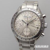 Omega Speedmaster Day Date Stahl 39mm Silber