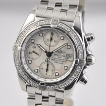 Breitling Chrono Cockpit Steel 39mm Mother of pearl No numerals United States of America, Ohio, Mason