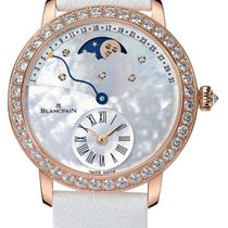 Blancpain Women Rose gold 36mm Mother of pearl