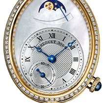 Breguet 8908BA/52/864.D00D Yellow gold 2019 Reine de Naples 28.45mm new