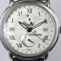 Maurice Lacroix pre-owned Automatic 39mm Silver Sapphire crystal
