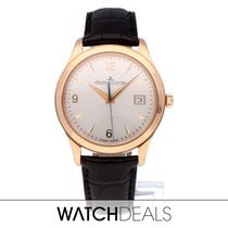 Jaeger-LeCoultre Master Control Date Or rose 39mm Argent Arabes