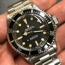 Rolex Submariner (No Date) Сталь 40mm Чёрный