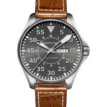 Hamilton Khaki Pilot Day Date H64715885 nouveau