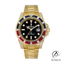 Rolex 116758SARU Yellow gold 2009 GMT-Master II 40mm new United States of America, New York, New York