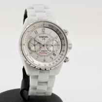 Chanel J12 Ceramic 41mm White Arabic numerals