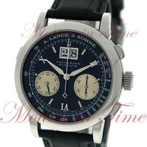 A. Lange & Söhne Datograph Platinum 39mm Black Roman numerals United States of America, New York, New York