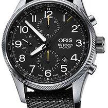 Oris Big Crown ProPilot Chronograph Acier 44mm Noir