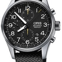 Oris Big Crown ProPilot Chronograph Steel 44mm Black United States of America, New York, Airmont