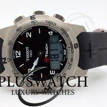 Tissot Titan Kvarc Crn Arapski brojevi 42,70mm nov T-Touch II