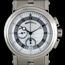Breguet Marine White gold 42mm Silver Roman numerals United Kingdom, London