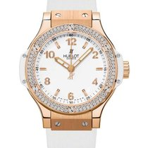 Hublot 361.PE.2010.RW.1104 38mm Big Bang in Rose Gold with...