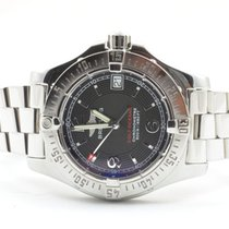Breitling Colt Oceane Damen Uhr A77380 Stahl/stahl Rar Top...