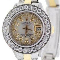 Rolex Золото/Cталь 26mm Автоподзавод Lady-Datejust подержанные