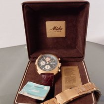 Mido Chronograph 42mm Automatic 1970 pre-owned Blue