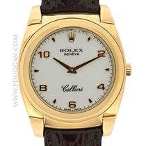 Rolex 18k rose gold Cellini