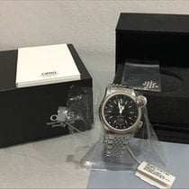 Oris Steel 42mm Automatic 01 635 7568 4064-07 8 21 61 pre-owned Malaysia, Bayan Lepas