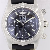 Breitling Blackbird Automatic Chronograph Big Date Black Dial...