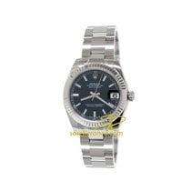 Rolex Lady-Datejust 178274 Rolex Datejust Nero Indici 31mm Ghiera Oro Bianco 2020 nouveau