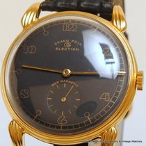 Election Mint Never worn Black Dial 18ct Rose Gold Fld...