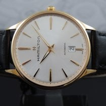 Hamilton Jazzmaster Thinline Red gold 40mm