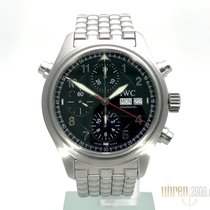 IWC Fliegeruhr Spitfire Doppelchronograph Edelstahlband IW371336