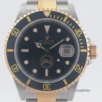 Rolex 16613 Or/Acier Submariner Date 40mm nouveau