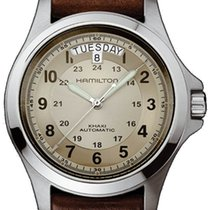 Hamilton H64455523 Acero Khaki Field King 40mm