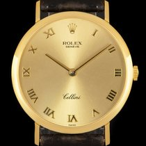 Rolex 32mm Manual winding 1991 pre-owned Cellini (Submodel) Champagne