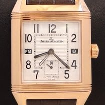 Jaeger-LeCoultre 230.2.77 Rose gold Reverso Squadra Hometime 34mm pre-owned United States of America, Florida, Boca Raton