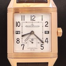 Jaeger-LeCoultre Reverso Squadra Hometime Rose gold 34mm White United States of America, Florida, Boca Raton