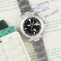 Rolex Explorer II pre-owned Steel