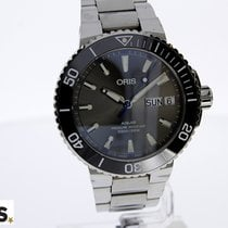 Oris Hammerhead Limited Edition pre-owned 46mm Grey Date Weekday Steel