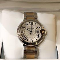 Cartier Gold/Steel 36mm Automatic W2BB0012 new