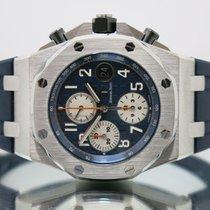 Audemars Piguet Royal Oak Offshore Chronograph Steel 42mm Blue Arabic numerals United Kingdom, Essex