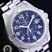 Breitling Colt GMT A32350 Very good Steel 40.5mm Automatic