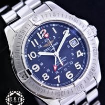 Breitling Colt GMT Steel 40.5mm Black Arabic numerals