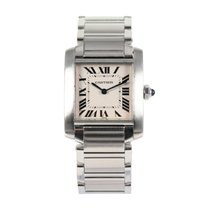 Cartier 2301 Steel Tank Française 25mm pre-owned