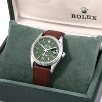 Rolex Datejust Acero 36mm Verde