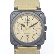 Bell & Ross BR 03-94 Chronographe Ceramic 42mm Arabic numerals