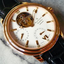 Blancpain Léman Tourbillon Rose gold 38mm White No numerals