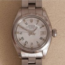 Rolex Oyster Perpetual Lady Date Staal 26mm Wit Romeins Nederland, Amstelveen