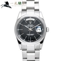 Rolex Day-Date 36 White gold 36mm Black
