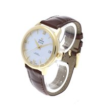 Omega De Ville Prestige Yellow gold 32.7mm Mother of pearl